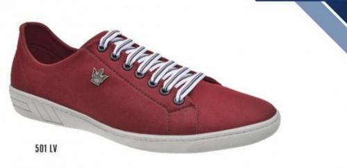 Sapato casual lacoste marsala