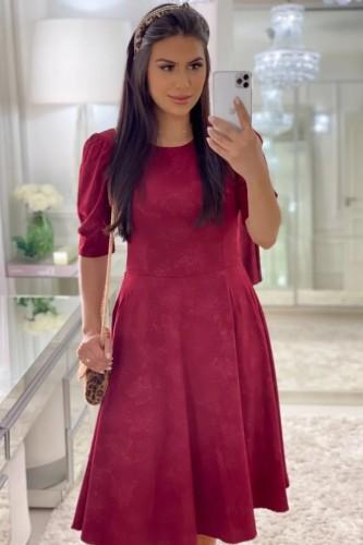 Vestido Angela Marsala