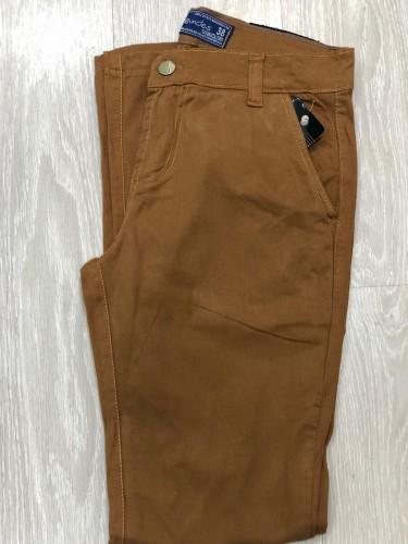 Calça masculina Esporte Fino Caramelo tamanho 46
