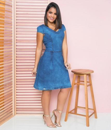 Vestido Jeans Milly Azul